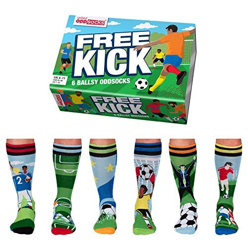 Free Kick Fußball Oddsocks Socken in 39-46 im 6er Set - Strumpf