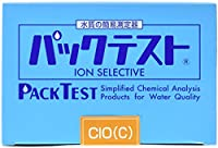 共立理化学研究所 パックテスト WAK-ClO(C) 残留塩素(高濃度)