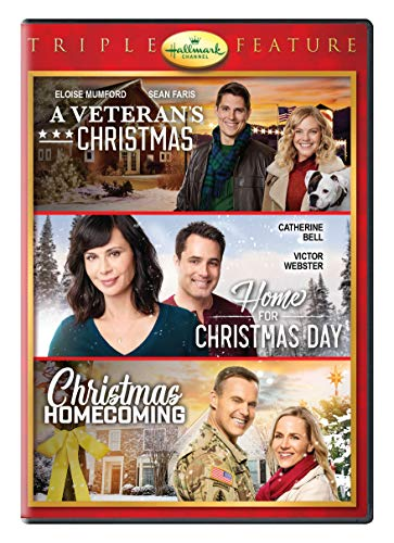 Hallmark Holiday Collection Triple Feature: A Veteran's Christmas / Home for Christmas Day / Christmas Homecoming