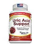 Uric Acid Support, Cleanse & Kidney Function Control - Supports A healthy Natural Gout Inflammation - Herbal Cleanse Detox for Joint Pain Swelling & Stiffness Includes Tart Cherry, Celery Seed Extract