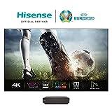 Hisense 100L5F-A12 Laser TV 100' con schermo Antiriflesso, Risoluzione 4K,...