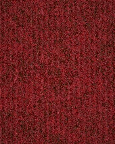 Eventteppich Messeteppich   Rips-Nadelfilz   400 cm Breite   rot   Meterware, 60m Rolle   Größe: 60 x 4m