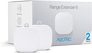 Aeotec Range Extender 6, Zwave Extender, Z-Wave Plus Repeater, 2 Pack