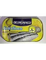Delmonaco Sardines in Vegetable Oil with Easy Opening, 125 gm