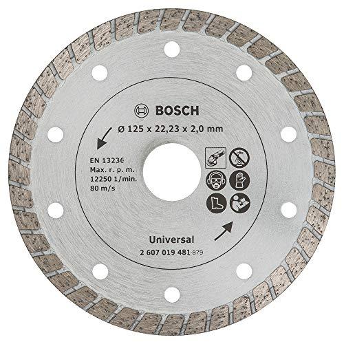 Bosch Diamanttrennscheibe Turbo, 125 mm, 2607019481