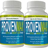 Proven Max Weight Loss Pills (2 Bottle Pack) Advanced Diet Supplements Loss Keto Burn Capsules Extra Strength Metabolism Supplement
