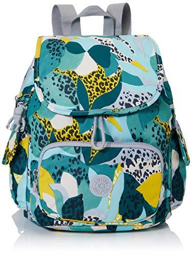 Kipling City Pack S Women's Backpack, Multicolour (Urban Jungle), 27x33.5x19 Centimeters (B x H x T)