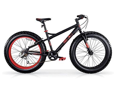 MBM Fat Machine 26' 7V F. A Disco MECC, Bici Unisex Adulto, Nero A01, XX