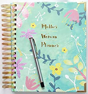 Mother Woman Planner- Sanity Saving Mom Planner 2019, Diary & Journal for Busy Moms; Undated Planner Daily/Monthly 7.5