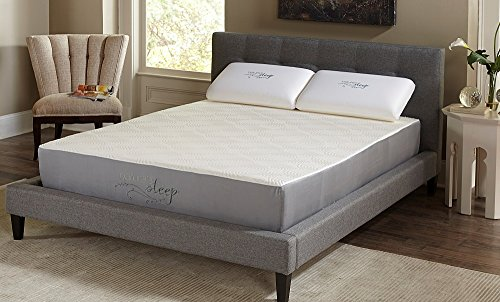 Find Bargain Natures Sleep 510LPS39 Topaz 10″ Memory Foam Mattress (Twin XL)