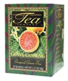 Type: green tea Ingredients: green tea antioxidants, guava leaves, panax ginseng, natural flavoring Pack of six, 20 count (Total of 120 counts) Type: green tea Ingredients: green tea antioxidants, guava leaves, panax ginseng, natural flavoring