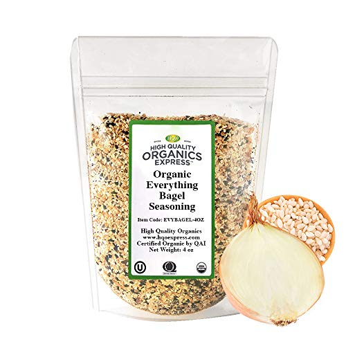 HQOExpress | Everything Bagel Seasoning | Certified USDA Organic | 4 oz. Bag