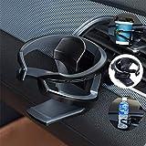 Umisky Porte-gobelet/bouteille amovible et universel avec support réglable pour grille d'aération de voiture