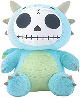 SUMMIT COLLECTION Furrybones Teal Dragon Scorchie with Wings Plush Doll