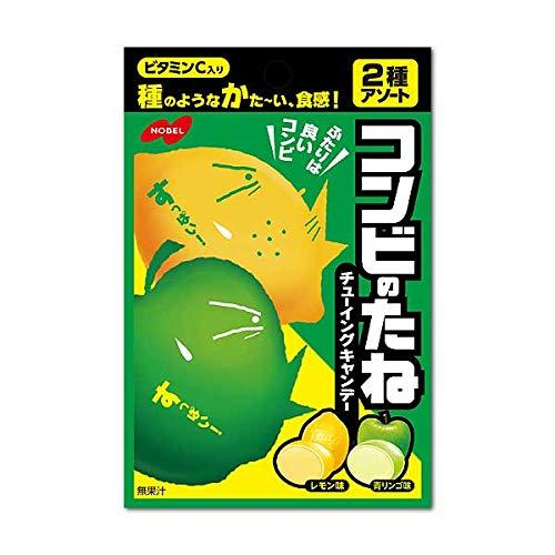 110円 ノーベル 35gコンビのたねレモン&青りんご [1箱 6個入]