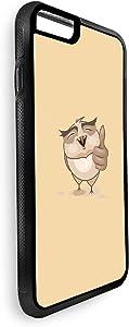 ايفون 6 بلس  بتصميم الشعور بالتفائل - بومة