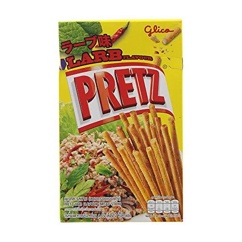 Glico Brand, Pretz Larb Flavour, Bread Stick 25g X 6 Packs