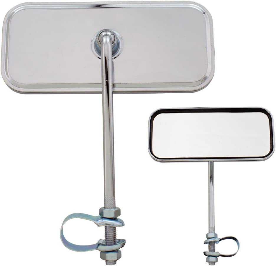 Fenix Superior Cycles Rectangle Bicycle Mirror Chrome No Ref Same day shipping All