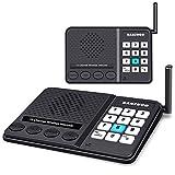 ODOM Wireless Intercom System - Long Range 1 Mile Intercoms Wireless for Home...