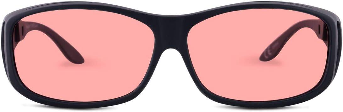 TheraSpecs Now free shipping WearOver Blue Light Sensi Popular popular Migraine for Glasses