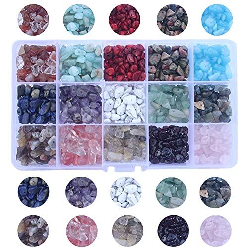 colori pietre preziose Vegena Perline di Pietre Preziose Chip