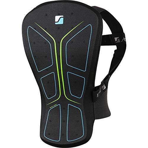 Stuf SOFT SHIELD Rückenprotektor schwarz-blau-grün - L