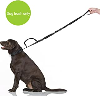 SlowTon Tactical Dog Leash, Heavy-Duty Nylon Bungee Leash with Long and Short Control Handles, Quick Release Leads Rope fo...