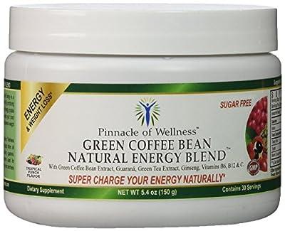 Pinnacle of Wellness Natural Green Energy Powder