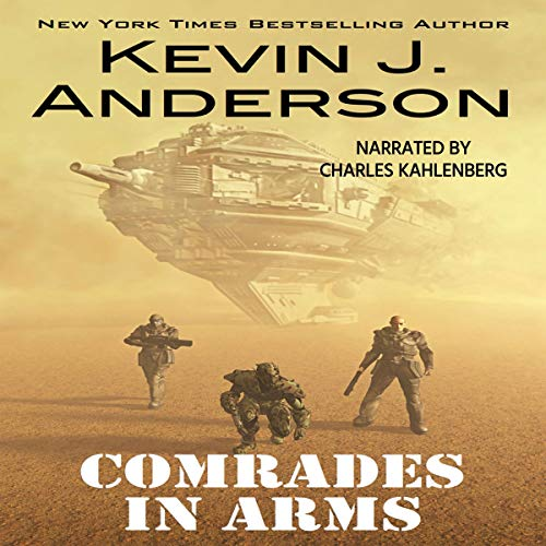 Comrades in Arms audiobook cover art