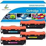 True Image CLT-K404S CLT-C404S CLT-M404S CLT-Y404S - Cartuchos de tóner compatibles con Samsung SL-C430 C430W C480 C480W C480FW C480FN