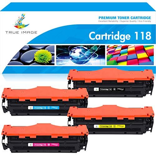 True Image CLT-P404C P404C CLT-K404S SF30PY SF30PK SF30PC SF30PM Compatible Toner Cartridges for Samsung SL-C430 Toner Samsung Xpress SL-C430 C430W C480 C480W C480FW C480FN Printer