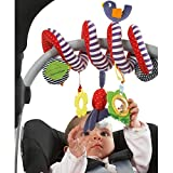 Crib Spiral Toy, Stroller Toy, Bed Hanging Toys with Ringing Bell , Ba
