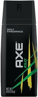 axe daily fragrance vs body spray