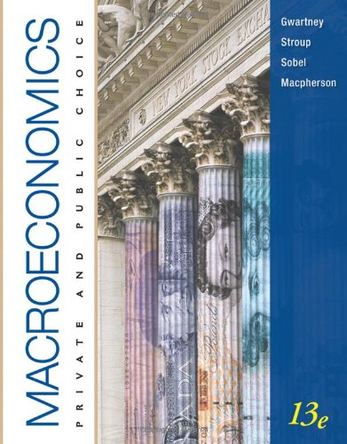 Macroeconomics: Private and Public Choice (Available Titles CourseMate)