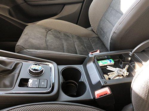 Shazzy Car Accessories Bandeja Consola Central para Seat Ate
