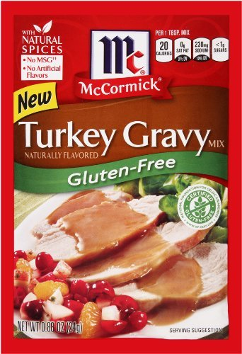 McCormick Gluten-Free Turkey Gravy Mix (Pack of 2)