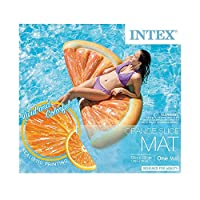 INTEX マット型 ビッグ うきわ (オレンジスライス) プール レジャー 海水浴 13931