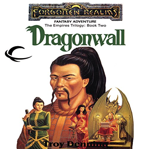 Dragonwall audiobook cover art