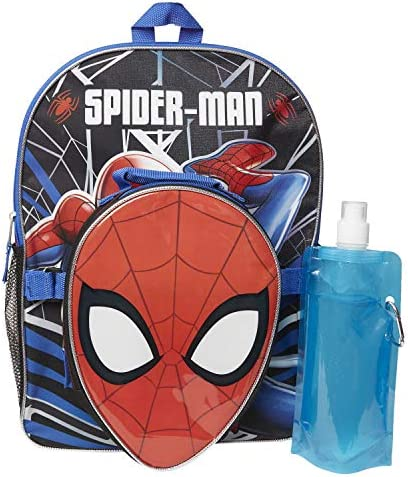 Marvel Spiderman Backpack Combo Set Spiderman Boys 4 Piece Backpack Set Backpack Lunchbox Water product image