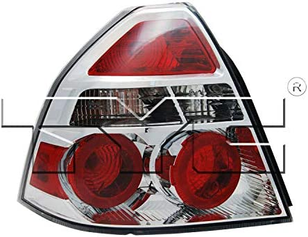 Tyc 11 6334 00 1 Chevrolet Aveo Left Replacement Tail Lamp Automotive Amazon Com
