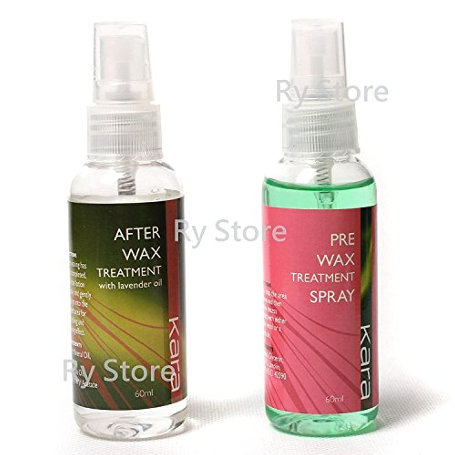 US Seller 2 in 1 Pre After Wax Treatment Spray Before Post Waxing Liquid Hair Removal Skin Care Depilatory Tools 60ml