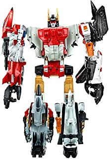 Transformers Generations Combiner Wars Silverbolt, Alpha Bravo, Firefly, Skydive & Air Raid Action Figures [Superion] (Hasbro Toys)