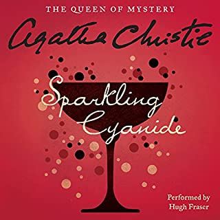 Sparkling Cyanide audiobook cover art