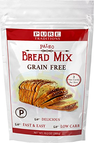Certified Paleo Bread Mix -100% Grain and Gluten Free!