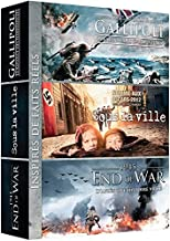 Coffret guerre : GALLIPOLI + SOUS LA VILLE + 1945 END OF WAR