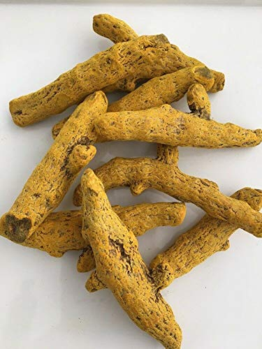 HoitoDeals Natural Turmeric Whole Dried Root Curcumin Spices Food Haldi