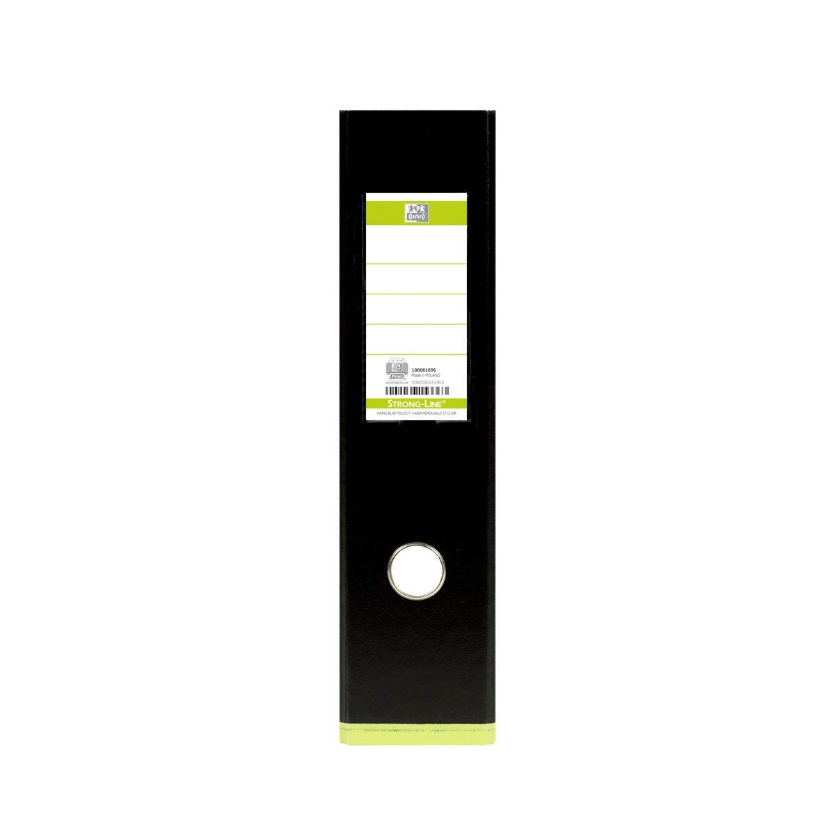 Paisaje A4 Polipropileno Carpeta PP Negro y verde Elba 100081036