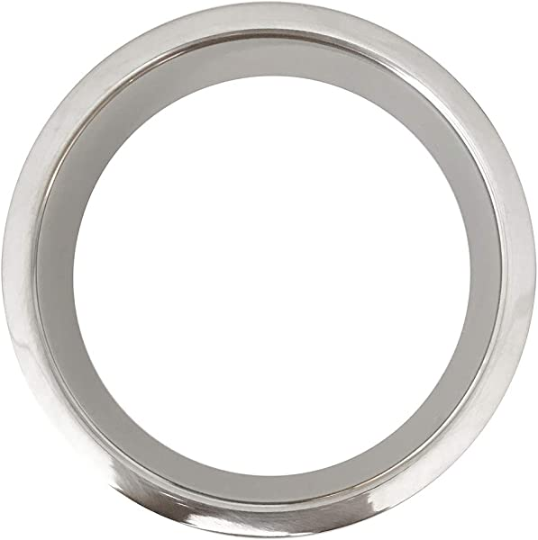 Polished Stainless Steel 6 X 2 Trash Grommet