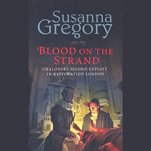 Blood on the Strand audiobook cover art