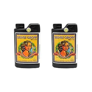 Advanced Nutrients 6201-14AB pH Perfect Sensi Grow Part A+B 1 Liter Brown/A